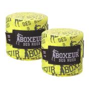 Boxeur Des Rues Series Fight Activewear Blac, Bandages, Unisex – Adult, Yellow, U