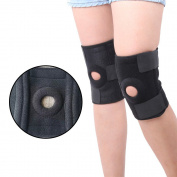 Allright Knee Support Brace Open-Patella Adjustable Brace Unisex Brace,Breathable Neoprene Sleeve Sport Support for Sport Activities Protection