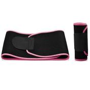 Adjustable Burning Fats Abdomen Belt Sports Elastic Fitness Waist Trimmer Belt