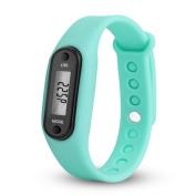 Run Step Watch, Toamen Bracelet Pedometer Calorie Counter Digital LCD Walking Distance