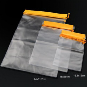 Topeakmart Waterproof Case Universal Dry Bag Waterproof Phone Map, iPad, Camera Bag Pouch, Transparent, 3-Pack