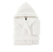 Bassetti Men's Women's Dressing Gown with Hood Size S – M – L – XL – XXL Pure Cotton Sponge 370 gr/m²