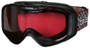 Bolle Adult Unisex UV Protection Snow Goggles-Black-OS