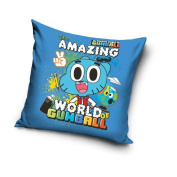 Cushion cover – Gumball – 40 x 40 – Cartoon Network Models Wool Bed Wash Children's Pillow/Cushion Cover – Gumball – 40 x 40 – Cartoon Network – Cotton Bed Wash Children's Pillow/Cushion Cover – Gumball – 40 x 40 – Cartoon Network