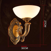 GUO YUN Wall Light Wall Lamp Living Room Lights Full Copper Bedroom Bedside Lamp Simple Study Lamp Aisle Entrance Lights Pure Handmade Copper To Create Luxury And Beautiful E27