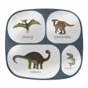 Sebra Dino Plate (Melamine), 21x24 cm