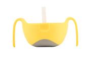b.box XL Bowl Plus Straw - Lemon Sherbet