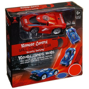 Remote Control RC Wall Climbing Gravity Defying Car Red