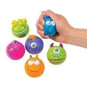 IN-12/2603 Monster Character Stress Balls Per Dozen