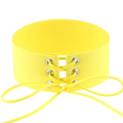 1 PC Choker Necklaces(30cm ), SamMoSon Fashion Gothic Stretch Tattoo Choker Elastic Velvet Necklace for Women Girls