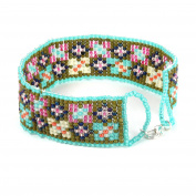 Beads Direct Pantone Jewel Loom Kale Kit, Other, Green, 35 x 15.5 x 11.5 cm