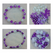 Berties Beads Hearts and Flowers bead kit with instructions