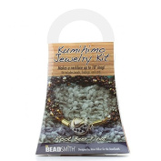 Beadsmith Kumihimo Necklace Bead Kit Root Beer Float PK1