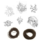 Brown Cord Necklace/Bracelet Jewellery Making Pack