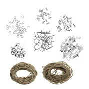 Natural Cord Necklace/Bracelet Jewellery Making Pack