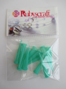 10pcs Olivine 14g plastic Lock tip Nozzle for Luer Lock Syringe Craft Glue glaze Ideal for E6000 Bling my shoes Trademark UK00003085705