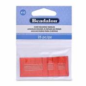 Beadalon #10 6-Piece/ 1 Threader Hard Needles