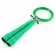 LeTEK Authorised Home Gym Sports Jumping Rope Skipping Exercise Cable Wire Green
