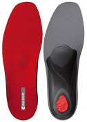 Pedag Viva Sport Semi-Rigid Orthotic for Impact Sports with Met Pad and Heel Cushion, Red, EU 38/US W8 by Pedag