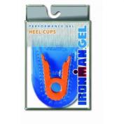Spenco Ironman Performance Gel Heel Cup   Deep Heel Cup Dual Density Thick Padded Trumpet Gel Kleine