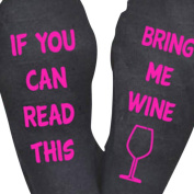 Cotton Socks , Unisex Cotton Socks IF YOU CAN READ THIS BRING ME A BEER Socks