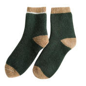 Wool Socks,Women Mens Casual Knitted Wool Socks Warm Winter