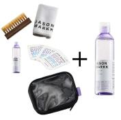 Jason Markk Travel Shoe Cleaning Kit and Premium Shoe Cleaner 240ml