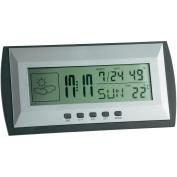 TFA Dostmann digital weather station 35.1065, silver grey