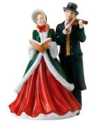 Royal Doulton Hark the Herald Angels Sing Figurine, Fine Bone China, Multi-Colour, 14.5 x 12.7 x 19.2 cm