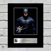 Ben Affleck, Batman Signed Mounted Photo Display Justice League