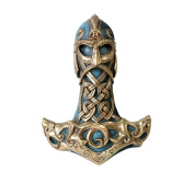 Thor's Hammer Wall Plaque - The Vault by Alchemy England