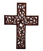 Purpledip Wooden Wall Cross