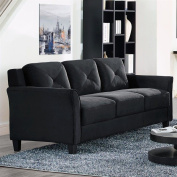 Lifestyle Solutions Harvard Sofa with Curved Arm