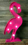 LED Light Up Flamingo Pink Circus Light