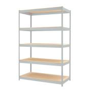 CommClad 1500 Series 180cm H 4 Shelf Shelving Unit Starter
