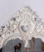 Baroque Mirror Mirror White Wall Mirror Shabby Chic Decorative Mirror Antique Palazzo Exclusive