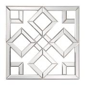Howard Elliott Collection Moira Mirror, 50cm H x 50cm W x 2.5cm D