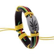 Yiwa Unisex Creative Stylish Colourful Hip Hop Bracelet Cortex Chain Christmas Gifts