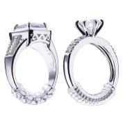 Yiwa 1pc Men Women 5mm Ring Simple PU Winding Rope Ring Size Adjuster Twining Line
