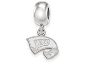 Western Kentucky Extra Small (1cm ) Dangle Bead Charm
