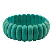 Yiwa Fashion Retro Turquoise Bracelet Elegant All-Match Lady Jewellery Christmas Gift