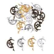 MagiDeal 20PCS Antique Jewellery Making Charms Pendant Findings Craft Supplies Bulk Lots Arts Fairy Angel