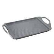 San Ignacio Lava Grill, Cast Aluminium, Grey, 45 cm