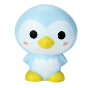 HUHU833 9cm Cute Penguin Cartoon Scented Squishy Charm Slow Rising Squeeze Toy