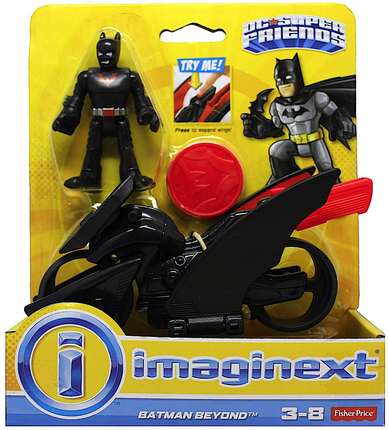 Action Figures Clever Imaginext Batman Battle Shifterz Batman Figure