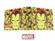 Marvel Comics Avengers Superhero Iron Man Collage Character Leather Look Bi-Fold Wallet