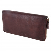 "Ladies' Purse, Wallet Billfold ""Old River"" Mod.5029 (19/ 10/ 3 cm), washed leather"