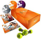 Zumba Fitness Gold Live It Up 3 Dvd Set - Transparent