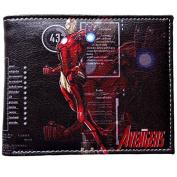 Marvel Comics (Avengers) Iron Man Leather Bi-Fold Men's Boys Wallet with Gift Box