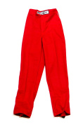 Crow Enterprises Red Youth Small Single Layer Driving Pants P/N 26112